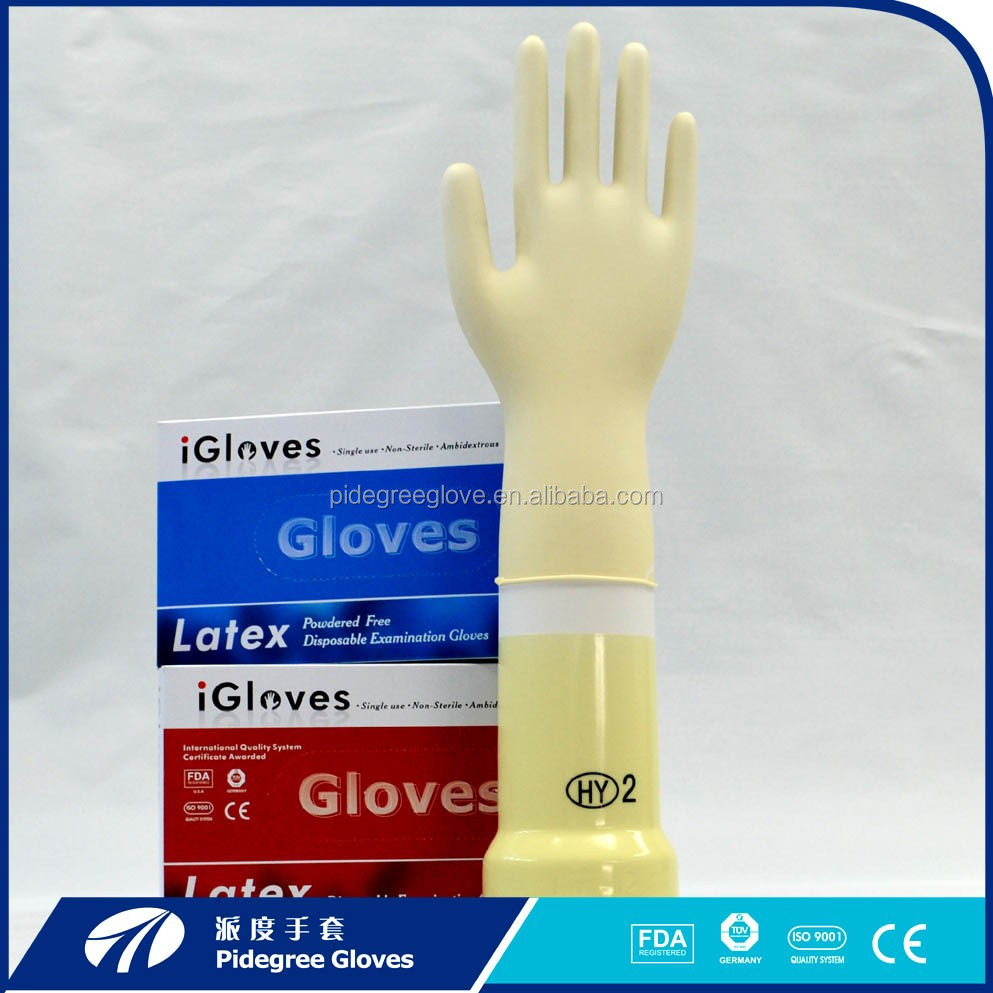 Medica use Latex exam gloves factory price lab glove