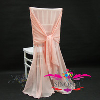 2014 popular style chiffon chair cover