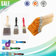 Head Scrubbing Nylon Flat Oil Paint Wall Acrylic Painting Brush