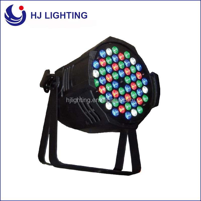 hot sale indoor led par 54*3w dmx sound control 5in1 rgbwa dj led par lighting