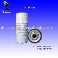 Truck & Excavator Oil Filter 5 000 670 700 Applied For Cat/Mack/Volvo