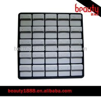 Wholesale plastic stackable earing jewelry tray