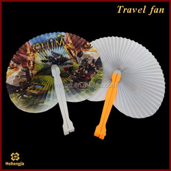 China manufacture competitive wholesale foldable frisbee fan