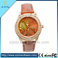Mechanical watch water resistant manual brand japan movt watches