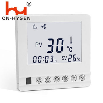 Hysen 2 pipes Digital Air Conditioner Button Thermostat