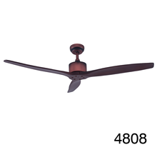 2016 52'' Solid Wood Modern Ceiling Fan No Light