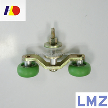 Plastic double shower door roller pulley wheel