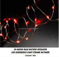 CE,ROHS certificate,party,home,office,hotel decorative outdoor battery powered led fairy string light