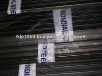 RECTANGULAR CRCA STEEL TUBES 0.4MM THICK