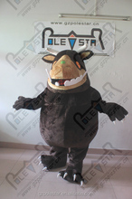 high quality brown fur gruffalo mascot costumes