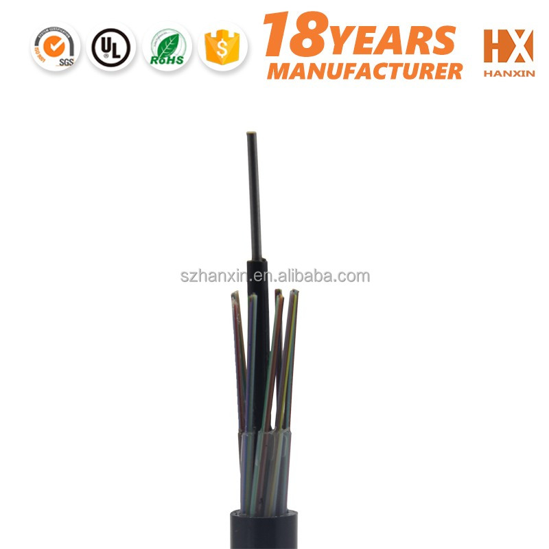 GYTY53 36 Core underground multimode fiber optic cable for Niue /Nauru/ Oman/Pakistan market