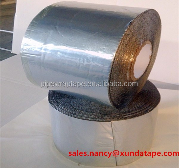 aluminum flashing wrap tape protection for Gas pipe