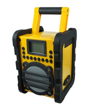 Anti-shock Construction Site FM DAB Radio with USB Charging Port for Mobile Phone