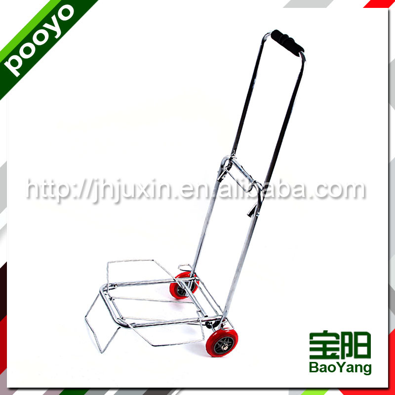 easy wheels shopping cart pvc ice wine bag for two bottle