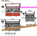 Full automatic wood working edge banding machine