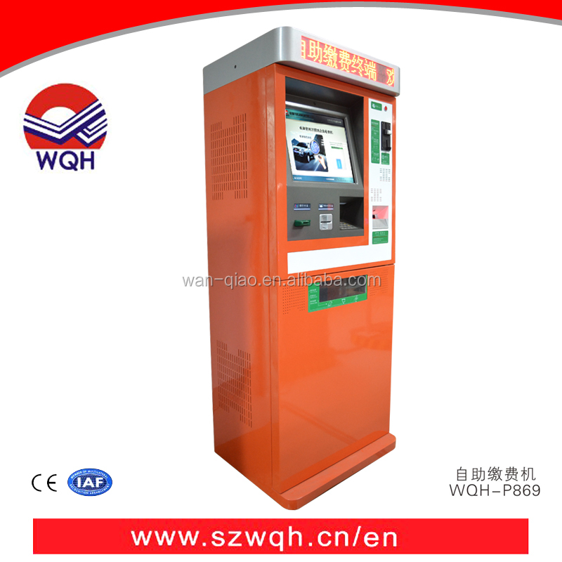 Self parking payment system Autopay Machine ,Automatic parking Self-Service Kiosk for car parking lot management system