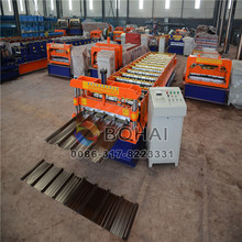 High-class clip lock/concealed roof roll former/forming machine