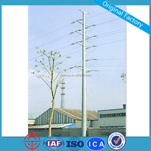 69KV Self-Supporting Polygonal Galvanized Electric Steel Pole
