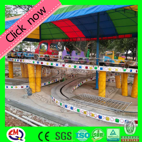 Adults and kids ride car racing game ride for amusement park