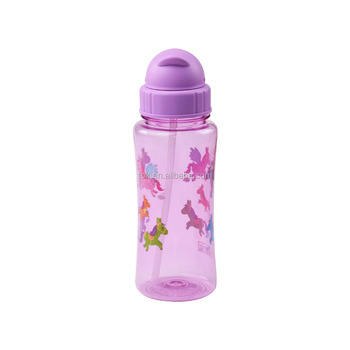 BPA Free Tritan Child Plastic Water Bottle sports Bottle 500ML With Custom Logo Custom Disign For Kid