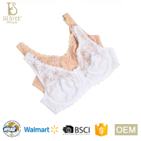 BEJ048-B hot selling ladies plus size unlined lace bra for women underwear lingerie
