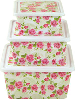 3 sizes plastic storage box