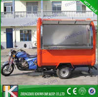 New disign gasoline Food cart for wholesale hot dog