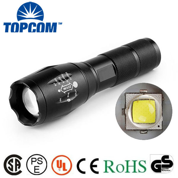 G700 Tactical high power style XM-L2 T6 led 500 lumens flashlight