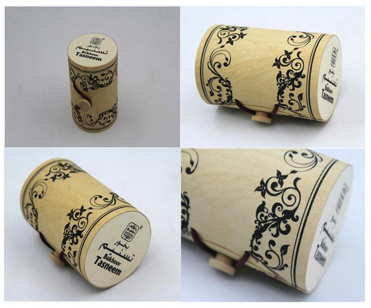 cheap wooden box birch veneer honey jar gift box