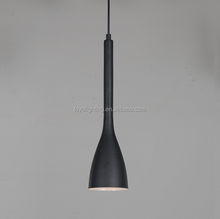 Dinning Room Black Aluminum and Glass Hanging Lamp / Pendant lamps