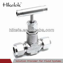 high pressure china instrument needle valve duplex steel 2205