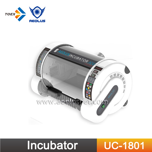 UC-1801 Pet Incubator Puppy Box Intensive Care Unit Puppy Dog Incubator for Sale