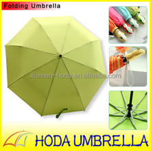 High-end Innovative Snake 3folding Umbrella Auto open and close Special/Electro-plated Frame Sun and Rain Umbrella