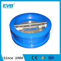 GGG40/GGG50 ductile iron dual disc check valve with factory price