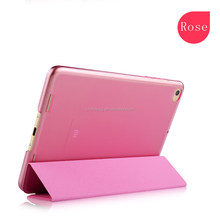 Origami pu leather Good quality folding Joy color power save tablet case for grils for Ipad mini 123