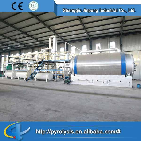 China Supplier Tyre Scrap/Waste Tyres Pyrolysis Plant