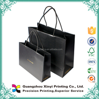 2015 Custom luxury gift paper bag for cloth and shopping factory sale price