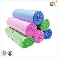 Cheap wholesale plastic garbage bag roll trash bag on roll