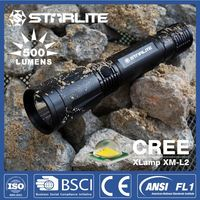 STARLITE aluminum alloy 6aa new 3w most powerful led flashlight