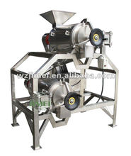 Easy move and use mango puree processing line/mango pulping equipment/fruit pulp extractor machine