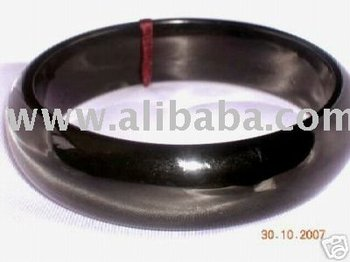 Australian Black Jade Bangle
