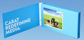 "2015 innovative 2.4"" video business card, video screen player greeting cards"