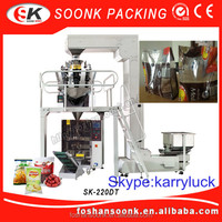 SK-220Puffed Food / Beverage / Medical / Chemical / Powder / Liquid / Automatic /granule packing machine