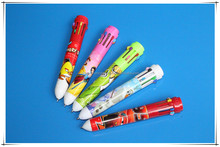 Cute cartoon promotional gift plastic ball point pen for students