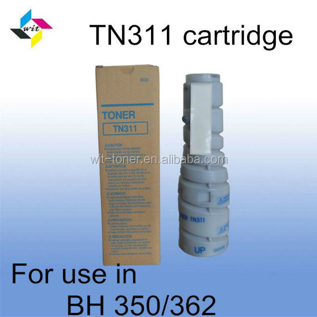 Compatible black toner cartridge for Konica Minolta Bizhub 362 TN311