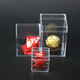 Eco-friendly Favour Box for Wedding Different Size Sweets Candy Plastic Box