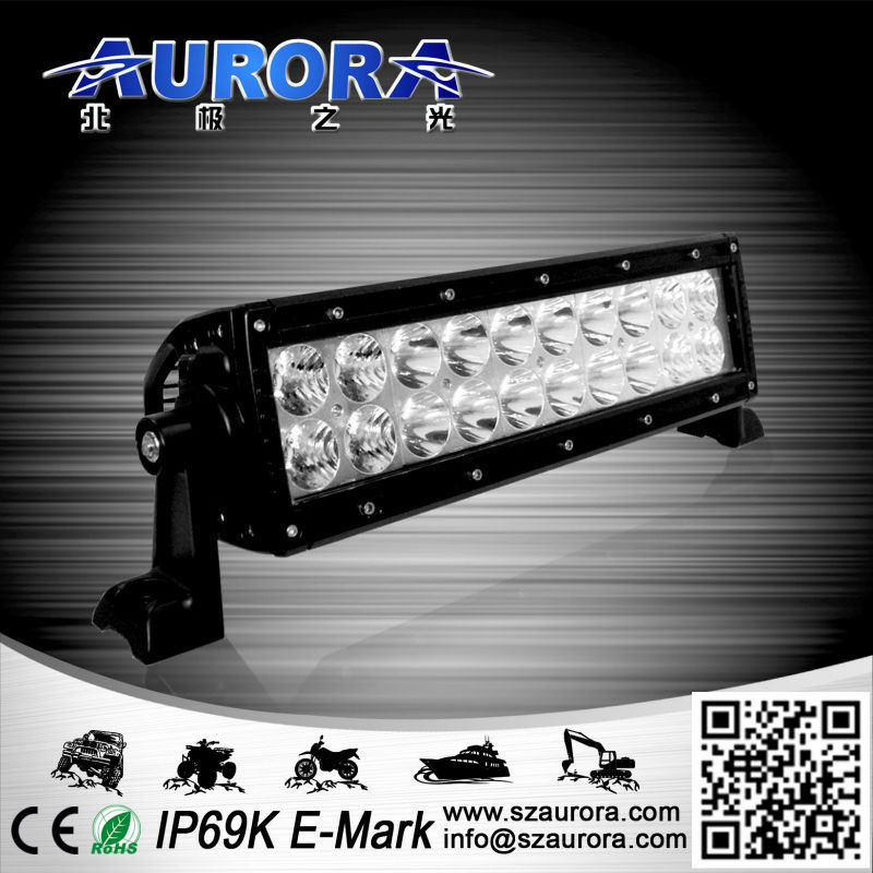 new optical system with multi beam technology 10inch 100W double row aluminium bar light for trailer kits
