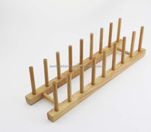 bamboo display rack dish rack