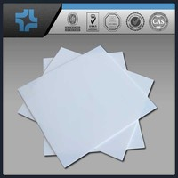 Natural color white ptfe teflon sheet / plate / board / paper