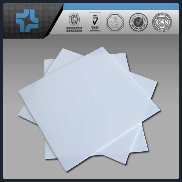 Natural color white virgin ptfe teflon sheet teflon plate board paper